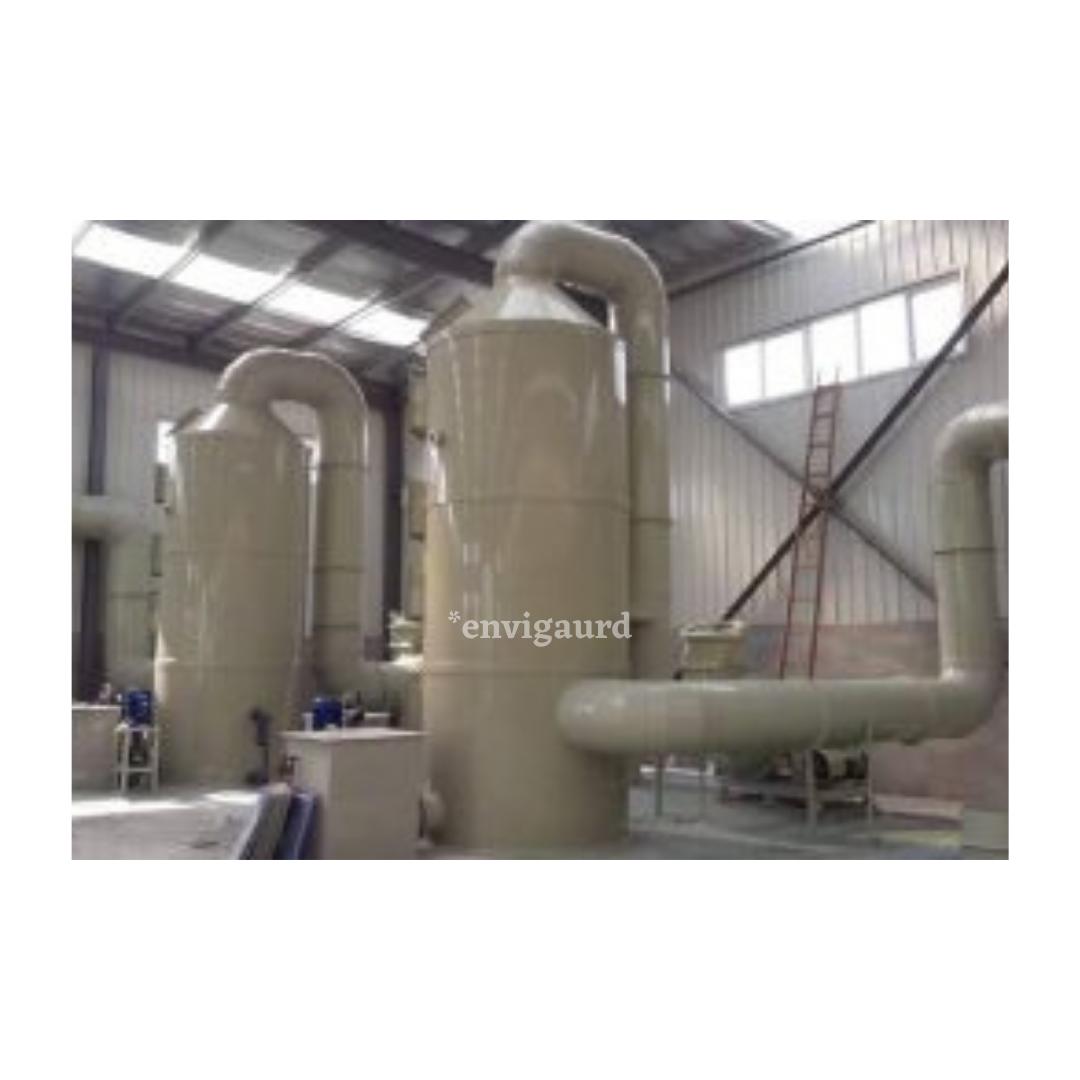 pp frp acid gas scrubber